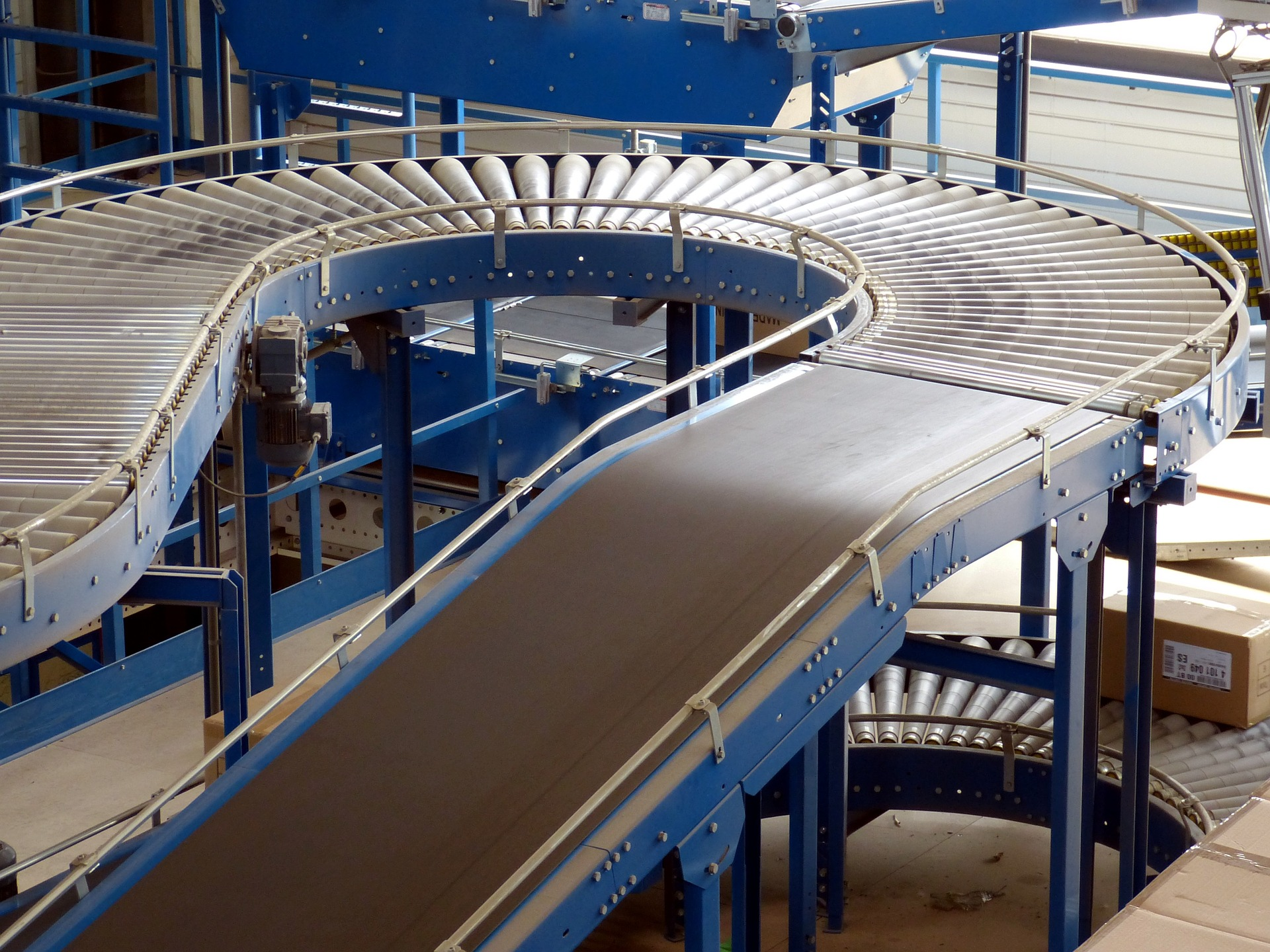 Distribution - Conveyer belt